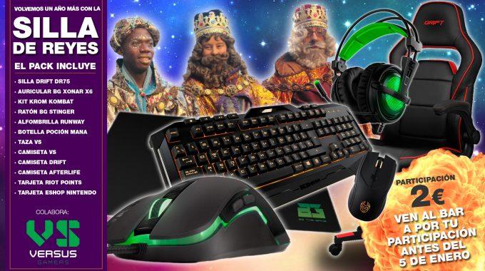 Vuelve La Silla De Reyes De Versus Gamers!