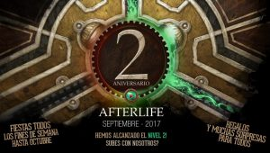 Aniversario Afterlife 2