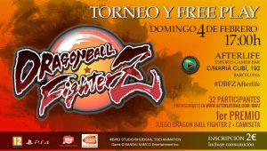 2018 - Torneo Dragon Ball FighterZ en Afterlife