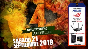 Fiesta 4º Aniversario Afterlife
