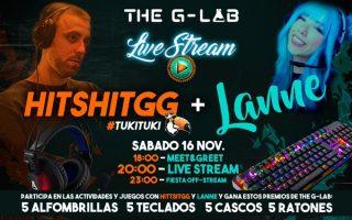 HitshitGG y xLanne live stream by GLab