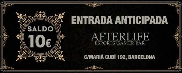 Afterlife Entrada anticipada 10 euros saldo